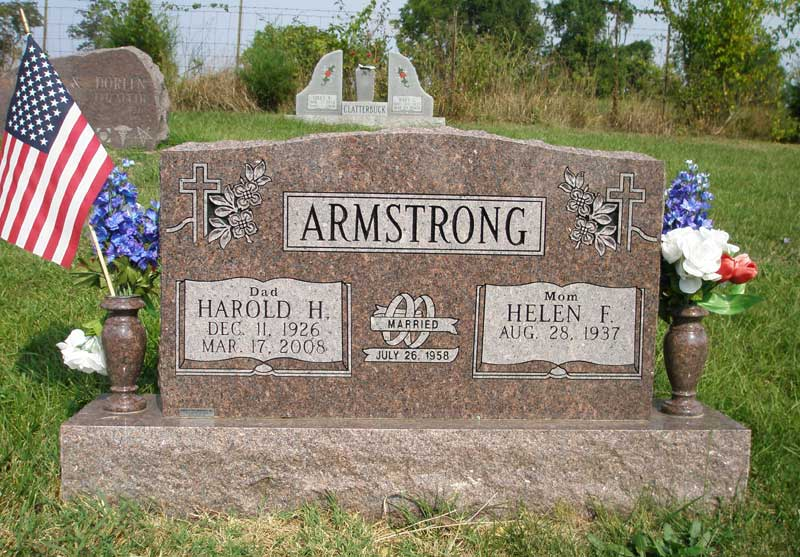 when did neil armstrong tombstone - photo #18