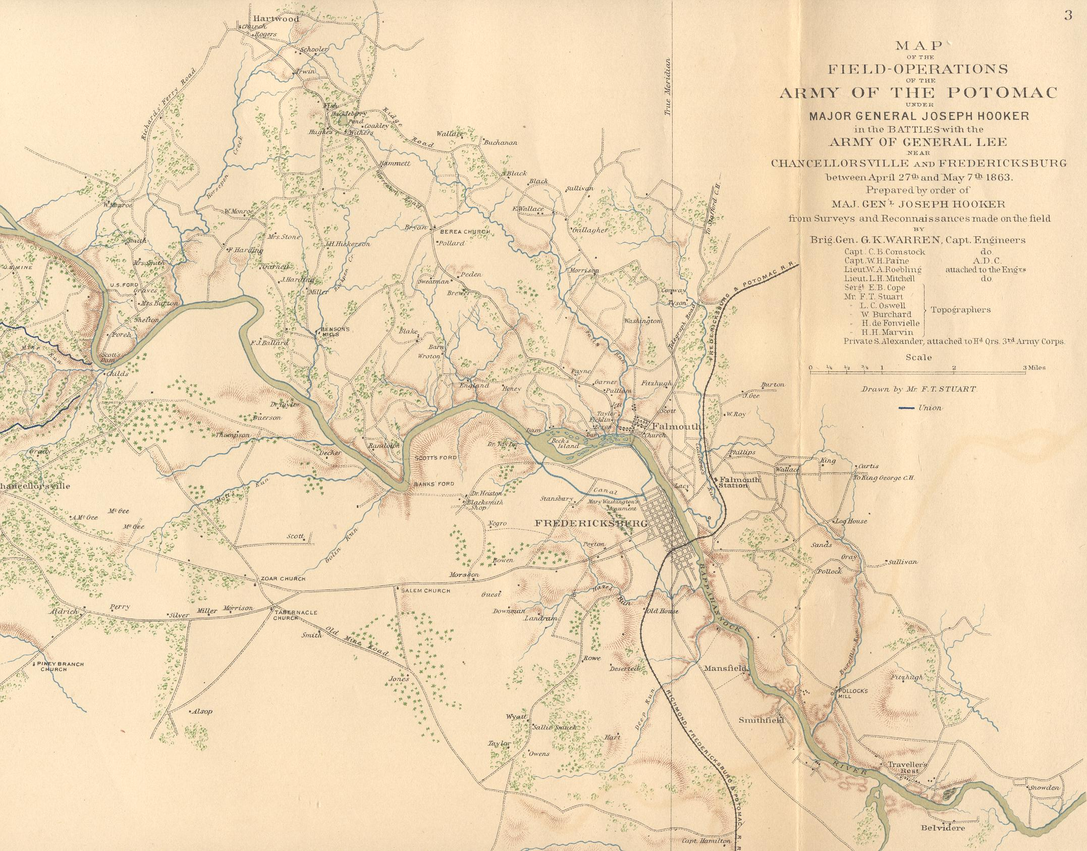 Civil War Map of Stafford County on map of frederick md area, map of virginia, map of washington dc area, map of stafford texas area, map of stafford uk area,